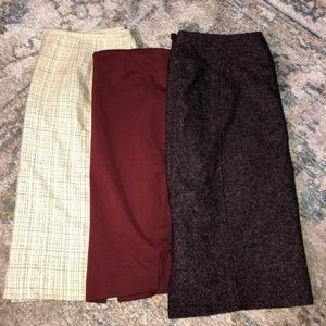 Dresses & Skirts - Women's Size 12 Skirt Bundle